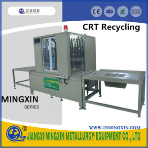 TV CRT monitor glass diamond Cutter machine