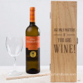 Engraved Wooden Wine Box Engraved Wooden Wine Box -