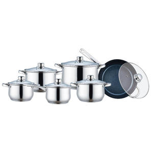 New Delivery for Cookware Set 12 Pieces Cookware Set with Non-stick Frypan export to Poland Factories