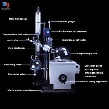 Lab glass vacuum distillation equipment