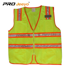 Clothes for mens blue reflective safety vest
