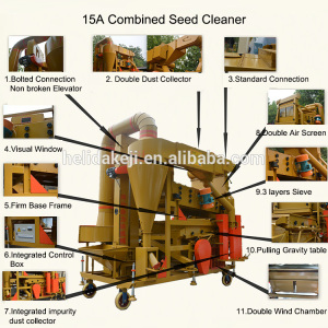 Combined Cleaning Machine with Elevator