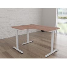 Height adjustable table desk