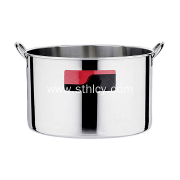 Polishing Cookware Stainless steel Soup Pot