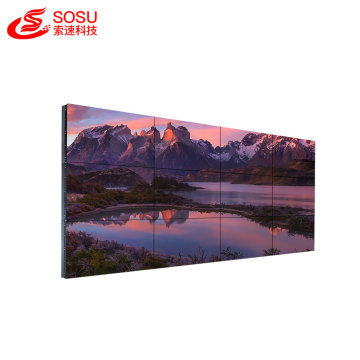 "42"" frameless lcd display panels tv video wall"