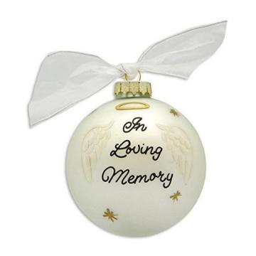 Logo Design Customized Printed Glass Christmas Bauble