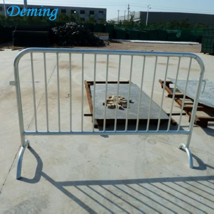2.0m Length Galvanized Pedestrian Car Road Parking Barrier