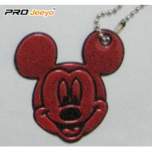 Hi-Vis PVC Sheet Red Mickey Pendant For Student