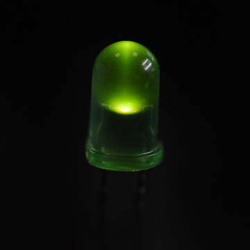 5mm 560nm LED Green Diffused Lens