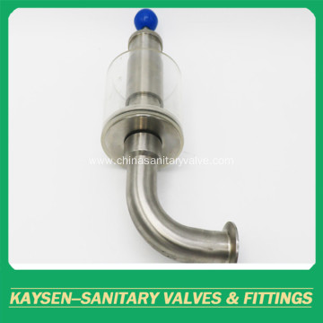 Sanitary exhaust safety valves stainless steel