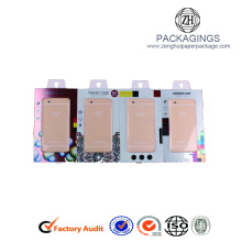 Transparent window packaging box for iphone case