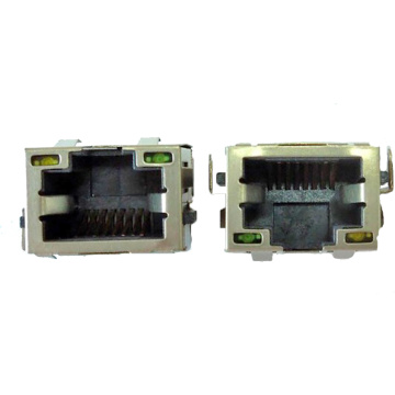 RJ45 8P8C SINK IN With EMI Type