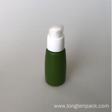 35ml PETG cone bottle with lotion pump