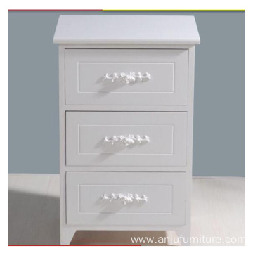 Wholesale Vintage Home Furniture white Wooden Storage Cabinet