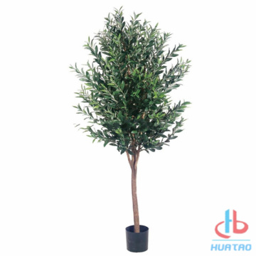 Green Artificial Olive Tree