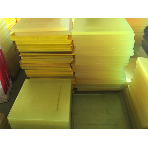 Hot-selling attractive for Pu Sheet Hardness 90A Nature Color Cast PU Sheet Manufacturers supply to Brazil Exporter
