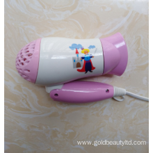 Easy Operation Safe Functional Kids Use Hair Blower