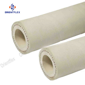 White PDA Compound Heat Resistant Synthetic Rubber Hose