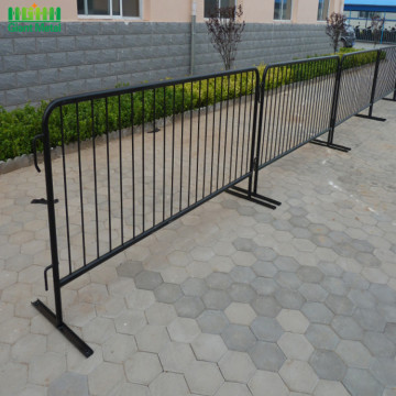 Temporary Galvanized Road Safety Traffic Crowd Barrier Fence