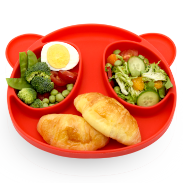 Little Bear Silicone Baby Placement Food Snack Mat
