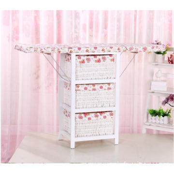 China for Wooden Cabinet,Wooden Storage Cabinet,Corner Wooden Cabinet Manufacturer in China Adjustable Wooden Mounted Cabinet with folding Ironing Board export to Panama Wholesale