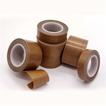 0.13mm Black PTFE  Adhesive Tapes Without Liner