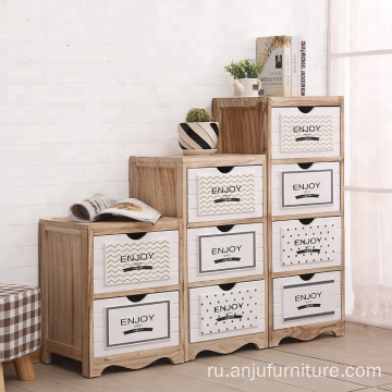 White drawers storage vintage cabinet