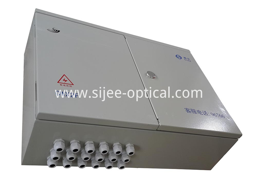 fiber optic distribution enclosure