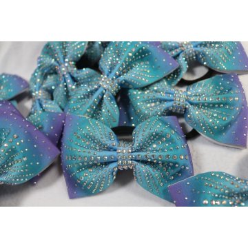 China for Sublimation Cheer Bows Sublimated Ombre shiny cheer bows supply export to China Exporter