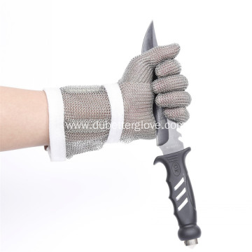 7.5 Inch Extended Long Cuff Mesh Gloves