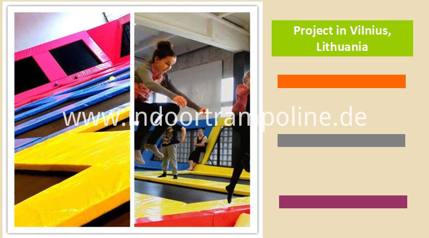 Projects of trampoline indoor park
