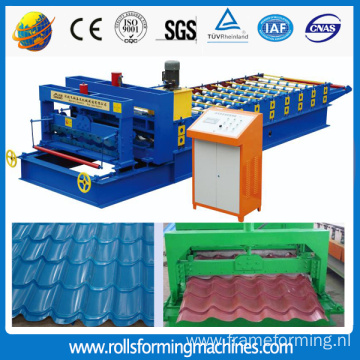 ZT Russia 1100 Glazed Tile Roll Forming Machine