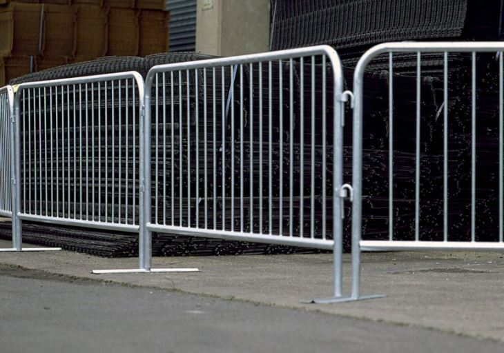 Safety Traffic Metal Steel Crowd Control Barriers Canada