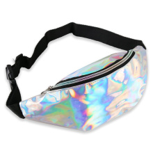 Designer Laser Waist Packs Waterproof Hologram Fanny Pack