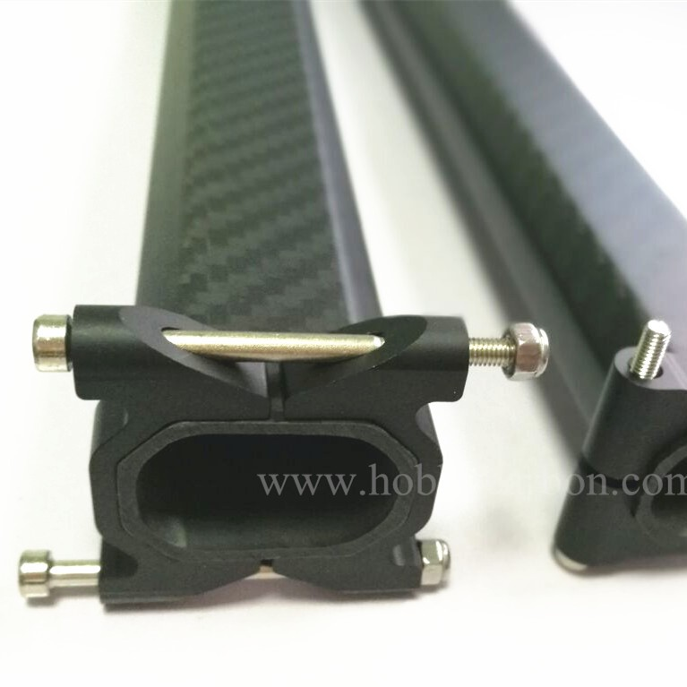 CNC Horizontal Aluminum Clamps for Sqaure Tubes
