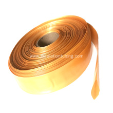 Gold PVC Heat Shrinkable Sleeving