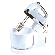 China for Hand Mixer With Bowl,Hand Mixer With Plastic Bowl,Hand Mixer With Rotating Bowl Manufacturers and Suppliers in China Best countertop dough hand stand mixer with bowl supply to Poland Factory