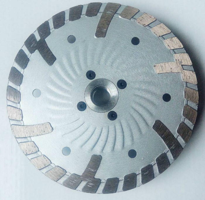 Turbo Blade with flange-2