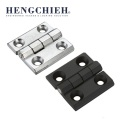 Black Powder Coated ZDC Industrial External Hinge