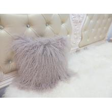 Customized for Mongolian Lamb Fur Pillow Fur Chair Pillow And Chair Cushions supply to Kiribati Factories