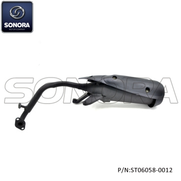 BAOTIAN Spare Parts BT125T-12E3 Exhaust (P/N:ST06058-0012) Complete Spare Parts High Quality