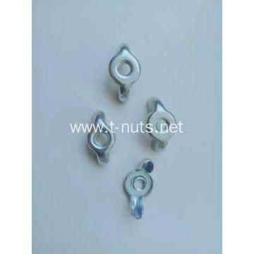 Machine Fine grinding Galvanized Wing nut