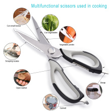 chef's scissors stainless steel kitchen shears