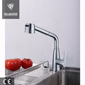 Ceramic cartridge pull out kitchen faucet tap
