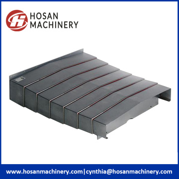 Telescoping Steel Way Machine Cover For CNC Systems