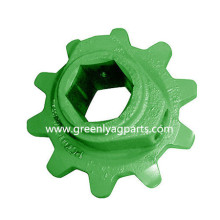 H94166 John Deere Feederhouse 10 tooth Upper Chain Sprocket