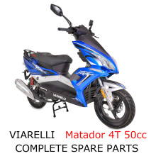 Viarelli Matador 4T 50cc Scooter Part Complete Parts