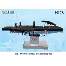 Economic electric motor surgical table