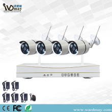 4CH 1.0/2.0MP Home Security Wifi NVR Kits