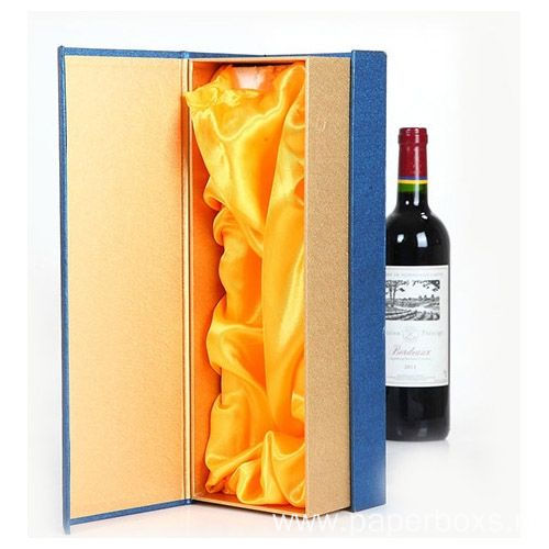 Standard Wine Packaging With Custom Tray